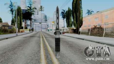 CoD Black Ops 2 - Balistic Knife für GTA San Andreas