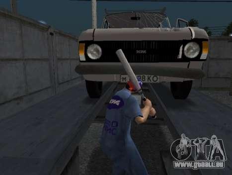 La peau travailleur IZH de Réparation automobile pour GTA San Andreas troisième écran