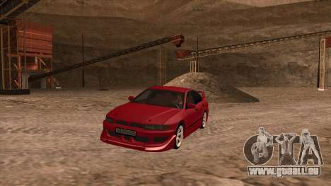 Mitsubishi Galant VR-4 (2JZ-GTE) für GTA San Andreas zurück linke Ansicht