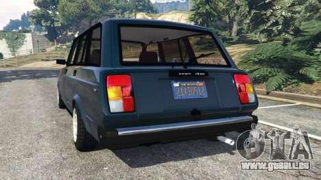 GTA 5 VAZ-2104 [Beta] arrière vue latérale gauche