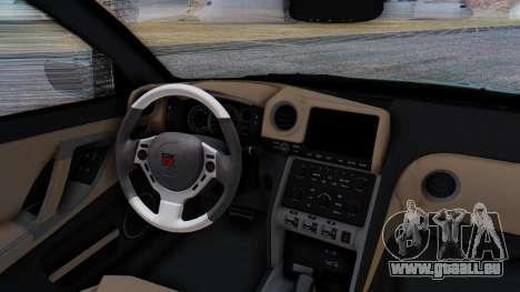 Nissan GT-R R35 Rocket Bunny v2 pour GTA San Andreas vue de côté