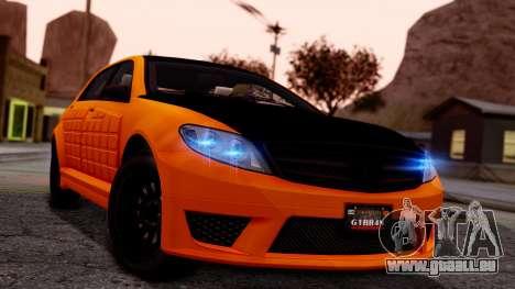GTA 5 Benefactor Schafter LWB Armored pour GTA San Andreas