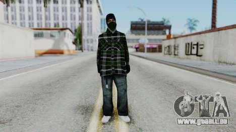 New Fam2 pour GTA San Andreas deuxième écran