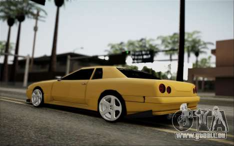 Elegy Speedhunters pour GTA San Andreas vue arrière