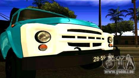 ZIL 130 pour GTA San Andreas vue de droite