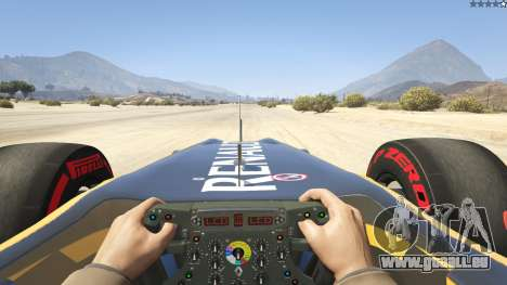 Renault F1 für GTA 5