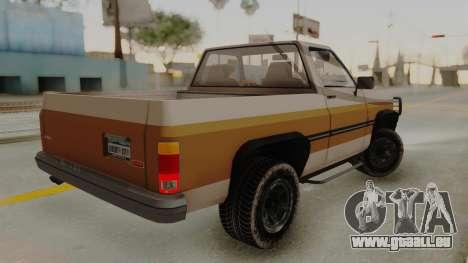 GTA 4 Declasse Rancher IVF pour GTA San Andreas laissé vue