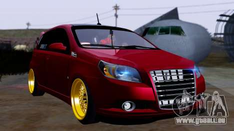 Chevrolet Aveo Stance pour GTA San Andreas