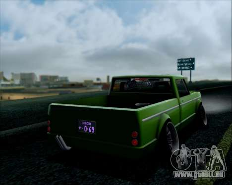 Sadler Debbie pour GTA San Andreas sur la vue arrière gauche