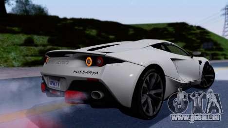 Arrinera Hussarya v2 pour GTA San Andreas laissé vue