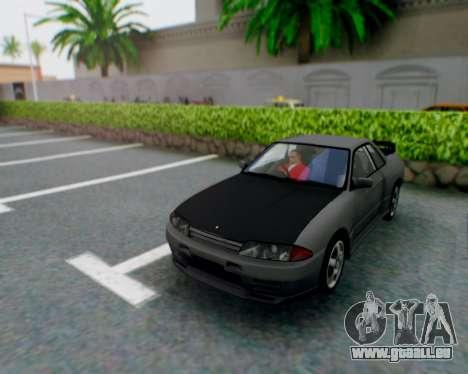 Nissan Skyline R32 GTR pour GTA San Andreas vue intérieure