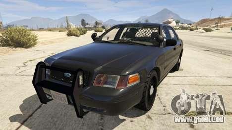 FBI Ford CVPI für GTA 5