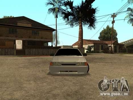VAZ-2115 pour GTA San Andreas laissé vue