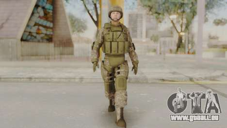 US Army Urban Soldier from Alpha Protocol für GTA San Andreas zweiten Screenshot