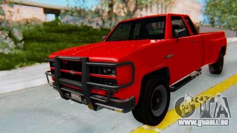 GTA 5 Vapid Bobcat XL für GTA San Andreas rechten Ansicht