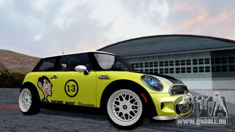 Mini John Cooper Works Mr.Bean pour GTA San Andreas