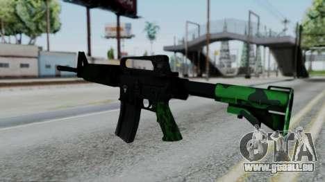 M16 A2 Carbine M727 v4 pour GTA San Andreas deuxième écran