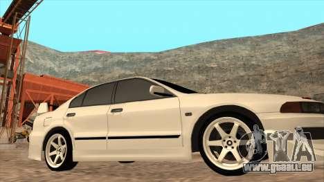 Mitsubishi Galant VR-4 (2JZ-GTE) pour GTA San Andreas vue arrière