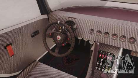 GTA 5 Bravado Banshee 900R Carbon pour GTA San Andreas vue arrière