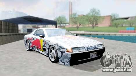 Elegy 4 Drift Drivers V2.0 pour GTA San Andreas vue arrière