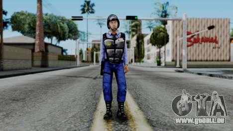 Barney Calhoun from Half Life Blue Shift pour GTA San Andreas deuxième écran