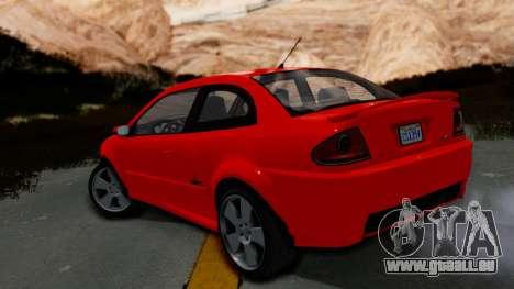 GTA 5 Declasse Premier Coupe IVF für GTA San Andreas linke Ansicht