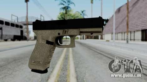 Glock 18 Sand Frame für GTA San Andreas