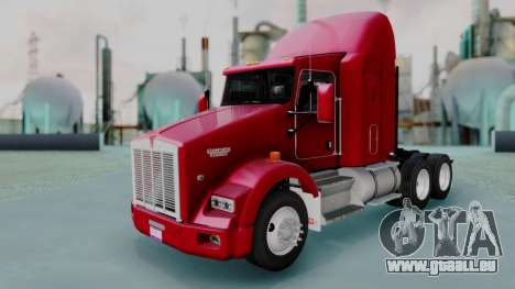 Kenworth T800 38s Austero Flat Top pour GTA San Andreas