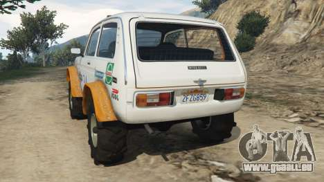 GTA 5 VAZ-2121 [Offroad] hinten links Seitenansicht