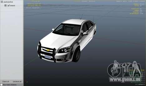 Unmarked Chevrolet Caprice für GTA 5