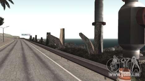 Route de réparation-Les Saints - Les entreprises pour GTA San Andreas huitième écran