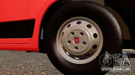 Fiat Ducato SMURD für GTA San Andreas rechten Ansicht