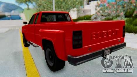GTA 5 Vapid Bobcat XL pour GTA San Andreas sur la vue arrière gauche