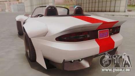 GTA 5 Bravado Banshee 900R IVF pour GTA San Andreas laissé vue