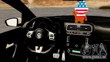 Volkswagen Polo GTI pour GTA San Andreas vue de droite