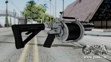GTA 5 Grenade Launcher pour GTA San Andreas deuxième écran