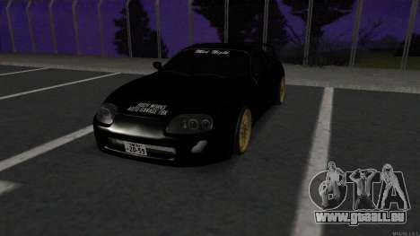 Toyota Supra Mid Night pour GTA San Andreas