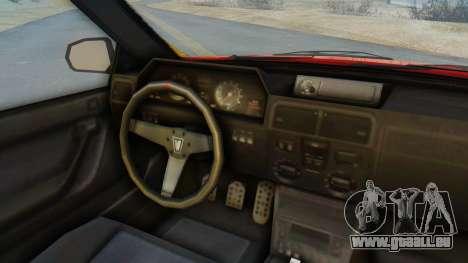 GTA 5 Vulcar Ingot IVF für GTA San Andreas Rückansicht