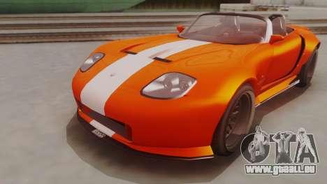 GTA 5 Bravado Banshee 900R für GTA San Andreas rechten Ansicht