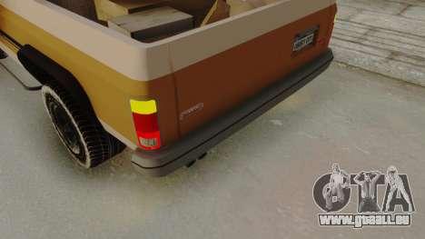 GTA 4 Declasse Rancher IVF pour GTA San Andreas vue arrière
