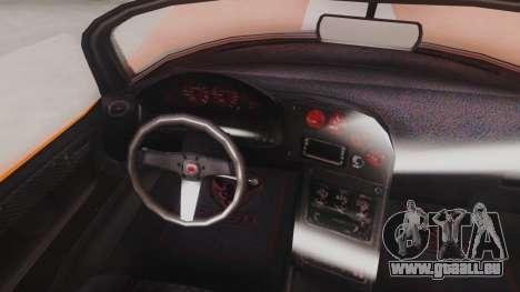 GTA 5 Bravado Banshee 900R für GTA San Andreas Rückansicht