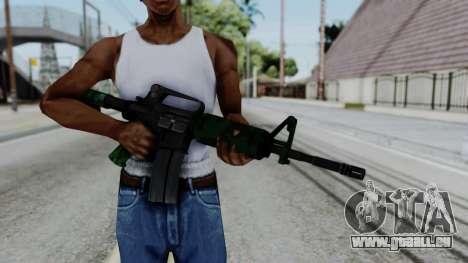 M16 A2 Carbine M727 v4 pour GTA San Andreas troisième écran