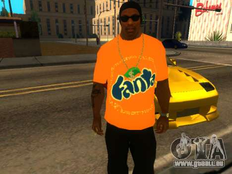 T-Shirt Fanta pour GTA San Andreas
