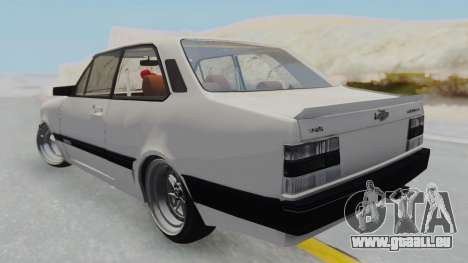 Chevrolet Chevette Stance für GTA San Andreas linke Ansicht