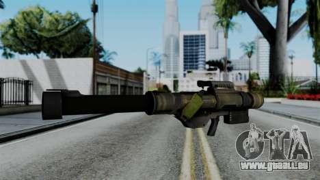 CoD Black Ops 2 - FHJ-18 für GTA San Andreas zweiten Screenshot