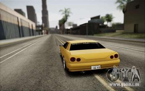 Elegy Speedhunters pour GTA San Andreas laissé vue