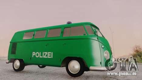 Volkswagen T1 Polizei für GTA San Andreas