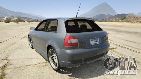 Audi A3 1999 Sport Edition für GTA 5