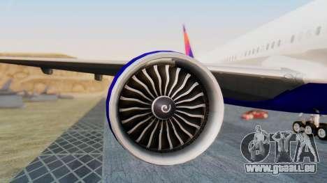 Boeing 777-200LR Delta Air Lines für GTA San Andreas linke Ansicht