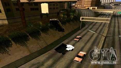 ZIL 130 für GTA San Andreas Rückansicht